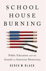 School House Burning - Black
